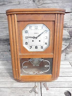 Star Antique Chime Mechanical 2 Hammers/lack The Rods/to Be Restored