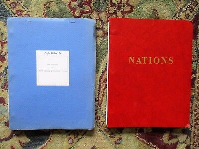 2 Unproduced ORIGINAL SCREENPLAYS for CHARLES BRONSON w/ LETTERS by AGENTS 1975