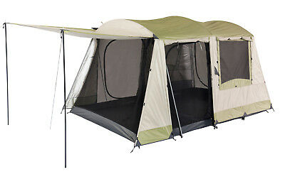 Oztrail Sundowner 6P Dome Tent Family Camping 6 Person OZTDTC-SUN-D