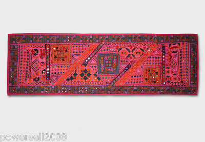 Handmade - Indian Style - 146x47.5CM - Fabric Wall Hanging / Tapestry