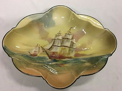 Vintage Royal Doulton Famous Ships Dish The Hydra Made In England
