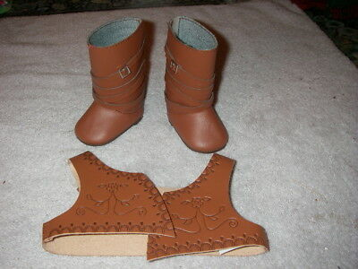 American Girl Doll Riding Boots and vest