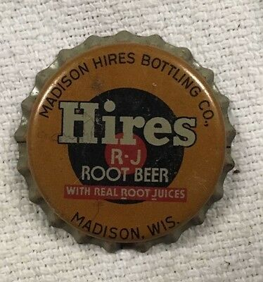 Lot of Antique Hires Root Beer Bottle Caps