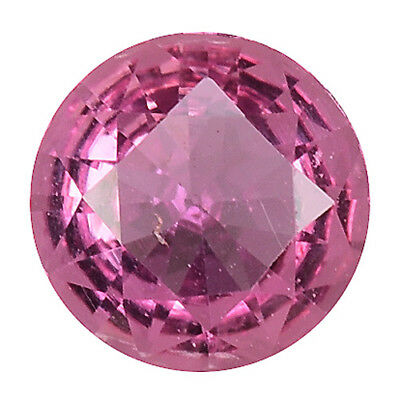 0.480 Cts Gorgeous amazing pink natural sapphire round loose gems see video