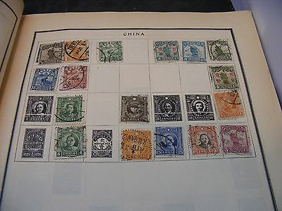 antique chinese stamp  early chinese stamps