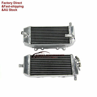 Aluminum Radiator For Suzuki RMZ250 04-06 KX250F 04-05