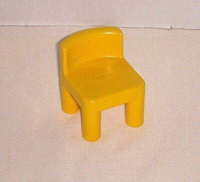 Vintage Little Tikes Dollhouse Dining Room Chair Accessory - 1989