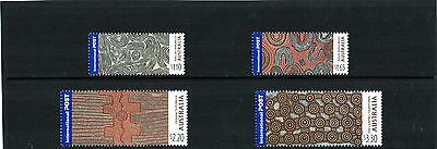 2003 Art Of Papunya Tula Internationals Set Of 4 Mint Never Hinged, Clean