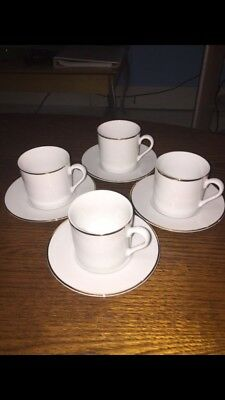 Tiffany & Co tea cup set of 4