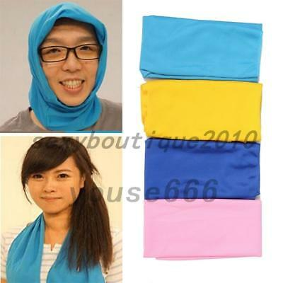 Outdoor Working Travel Sport Towel Hip-hop Yoga Ice Cold Summer Bath Towels