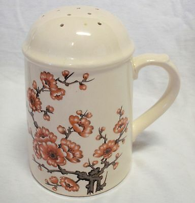 Royal Worcester Palissy Sprigtime Large Shaker - With Faults