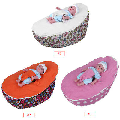 Soft Strap Baby Bean Bag Baby Soft Sleeping Bag Portable Seat Without Fillings