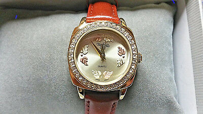 NEW Black Hills Gold $104.00 Crystal Watches WHOLESALE LOT OF TEN!