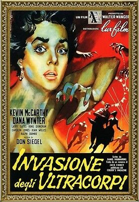 Invasion Of The Body Snatchers, Italy, Movie Poster Painting, Oil on Canvas
