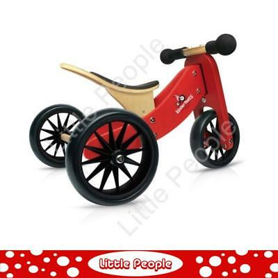Tiny Tots Wooden 2-in-1 Trike for boys or girls