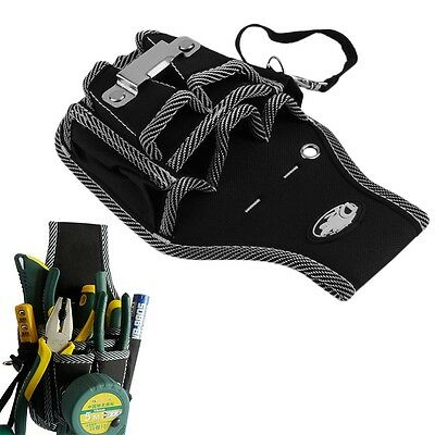 9 in1 Electrician Waist Pocket Tool Belt Pouch Bag Screwdriver Utility Holder YH