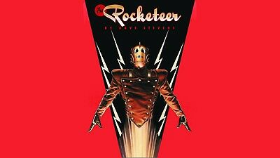 Rocketeer Poster Length :800 mm Height: 500 mm SKU: 6745