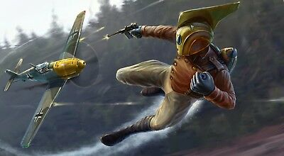 Rocketeer Poster Length :800 mm Height: 400 mm SKU: 6746