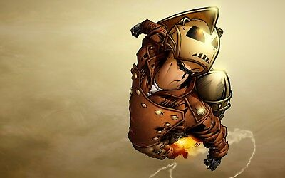 Rocketeer Poster Length :800 mm Height: 500 mm SKU: 6748