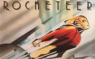 Rocketeer Poster Length :800 mm Height: 500 mm SKU: 6750