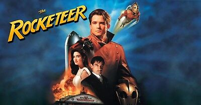 Rocketeer Poster Length :800 mm Height: 500 mm SKU: 6753