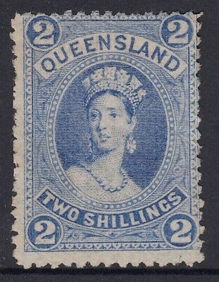 Queensland  SG 1522/- Blue  Large Chalon  thin paper  unused