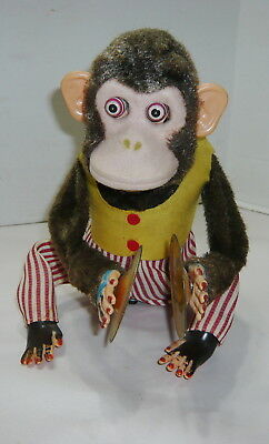 Vintage Battery Operated Musical Jolly Chimp