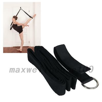 New Yoga Stretch Strap Exercise Strap For Physical Yoga Dance Fitness Workout UK