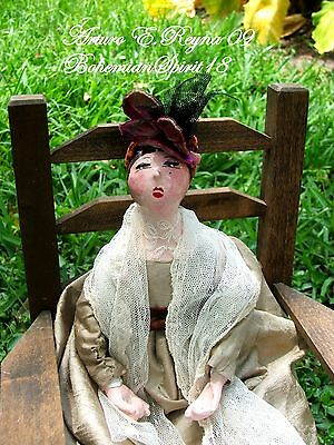 Victorian Style English Maiden ARTISAN Handcrafted DOLL