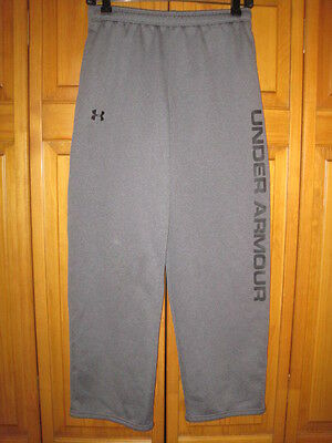 Under Armour Cold Gear sweat pants kids boys YXL gray soccer track running