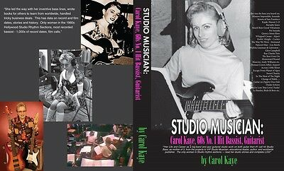 New: Music Autobiography of #1 Studio Musician Bassist 1960s, 502 Pages, 52 pics