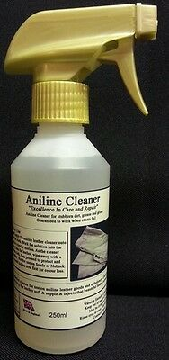Aniline Leather Cleaner In A Handy 250ml Spray Bottle Leather Repairs LRC7