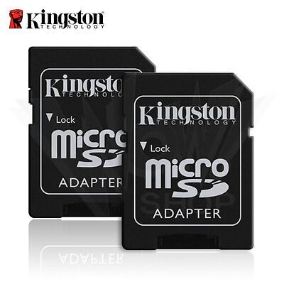 2PCS Kingston micro SD to SD Card Adapter SDHC SDXC 2 For The Price of Two