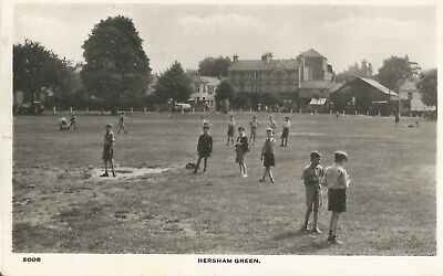 Hersham Green   Old Photo Postcard Walton On Thames Surrey
