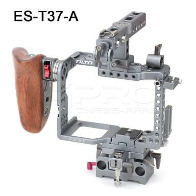 TiLTA ES-T37-A GH Series Cage for Panasonic GH5/GH4 w/ wooden Handgrip