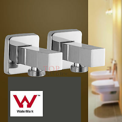 Bathroom Laundry Washing Machine Stops Tap Set square Water Taps brass Faucet