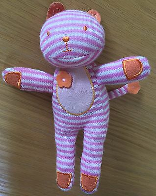 Giggling Striped Cat Soft Toy