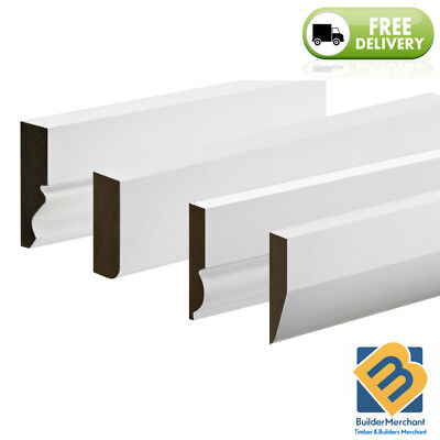 MDF Architrave Mouldings MDF skirting board Ogee Torus Chamfered Door Architrave