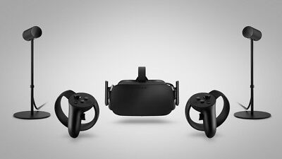 Oculus Rift CV1 Virtual Reality (1 casque + 2 Touch controllers + 2 capteurs)