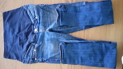 H and M maternity jeans high rise straight UK12 EUR38 US8