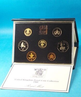 1985 United Kingdom Official Proof Coin Collection