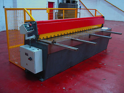 New CARTER Direct Drive Guillotine 2m x 3.25mm Sheet Metal Fabrication Shearing