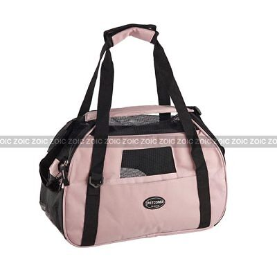 Pet Carrier Dog Cat Comfort Travel Shopping Cage Tote Bag Airline Approved