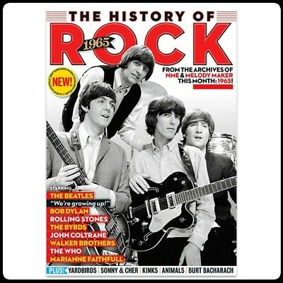 The History of Rock 1965 Uncut (NME & Melody Maker) Issue 1 As New