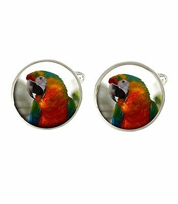 Parrot Mens Cufflinks Ideal Birthday Fathers Day Gift C126