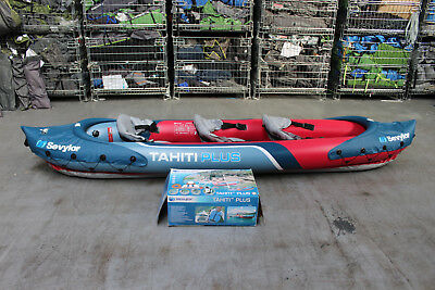 Sevylor Tahiti Plus Inflatable 3 Seat Kayak +++ RRP £220 +++ 497