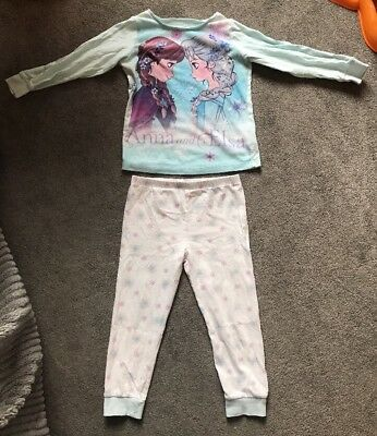 Mothercare Frozen Pyjamas, Girls, 3-4 Years. Long Sleeves And Trousers