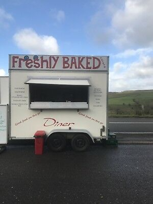 11ft X 7ft Catering Trailer For Sale