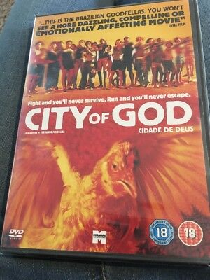 City Of God (DVD, 2003) New And Sealed