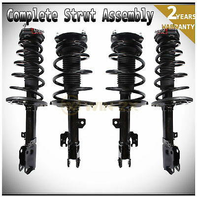 4pcs Front+Rear Left+Right Shock Struts & Coil Springs Assembly Fit Lexus/Toyota